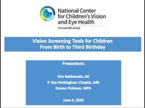 Vision Screening Tools for Children From Birth to Age 3