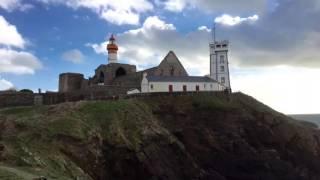 ✐ Dessiner en Bretagne-Pt St Mathieu - Carnet de Voyage