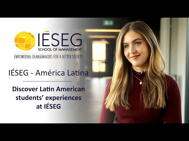 Discover Latin American Students Experiences At Iéseg Youtube