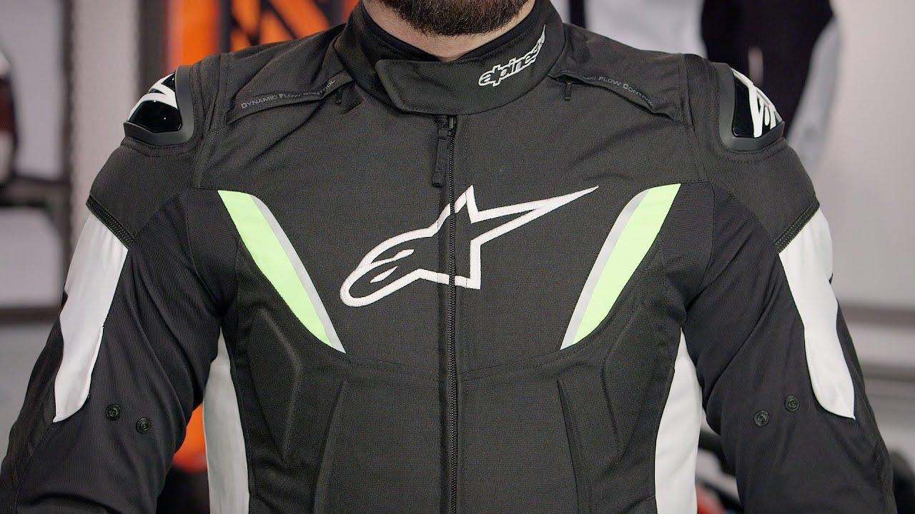 Alpinestars Motorcycle Jacket >> Alpinestars T-GP R WP Jacket Review at RevZilla.com - YouTube