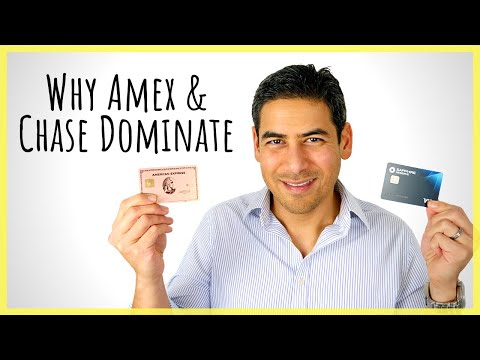 5 Reasons Why Chase & American Express Dominate The Travel Rewards Space   How Both Issuers Lead