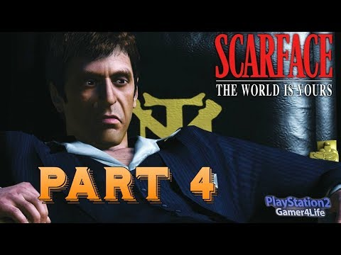 Scarface The World Is Yours Part 4 PS2 Gameplay