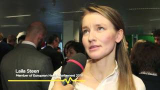 European Health Parliament 2016 first plenary session
