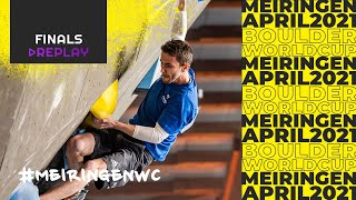 IFSC Boulder World Cup Meiringen 2021 || Men's and women's finals