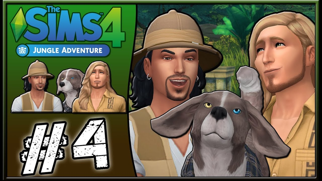deadly tomb let 39 s play the sims 4 jungle adventure. Black Bedroom Furniture Sets. Home Design Ideas