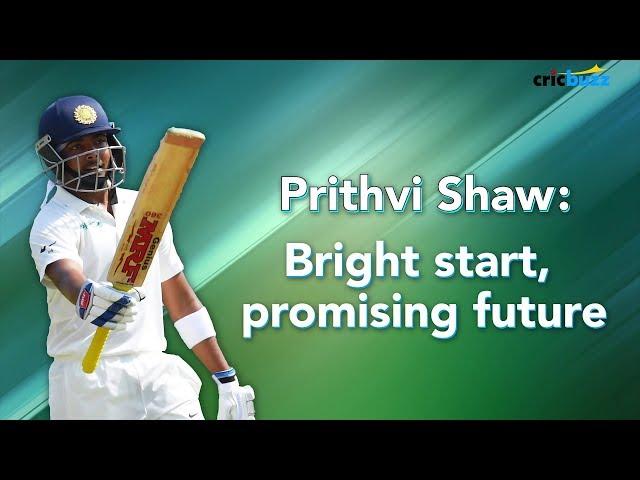 Prithvi Shaw is not the old-school Mumbai batsman but a new-India batsman - Harsha Bhogle