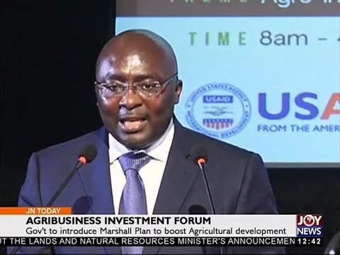 Agribusiness Investment Forum - Joy Business Today (3-10-17)