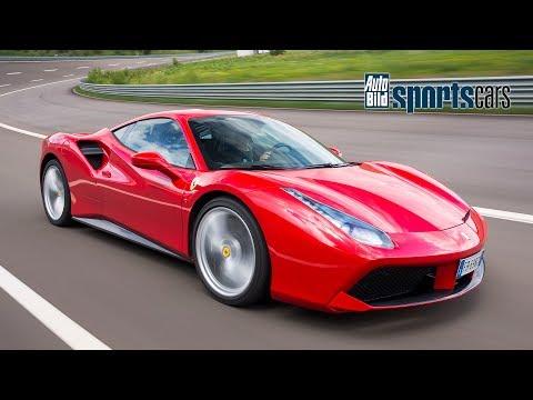 SUPERTEST: Ferrari 488 GTB hart getestet! Slalom/Beschleunigung/Sachsenring - AUTO BILD SPORTSCARS