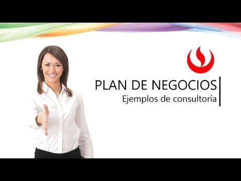 plan de negocios ejemplos de consultorias youtube