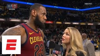 LeBron James on Cavaliers win: 'We didn't lose our composure' | ESPN