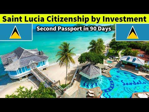 Saint Lucia Citizenship by Investment Program (Second Passpo