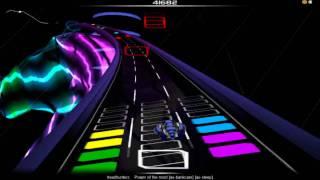 Headhunterz - Power Of The Mind - Audiosurf Gameplay