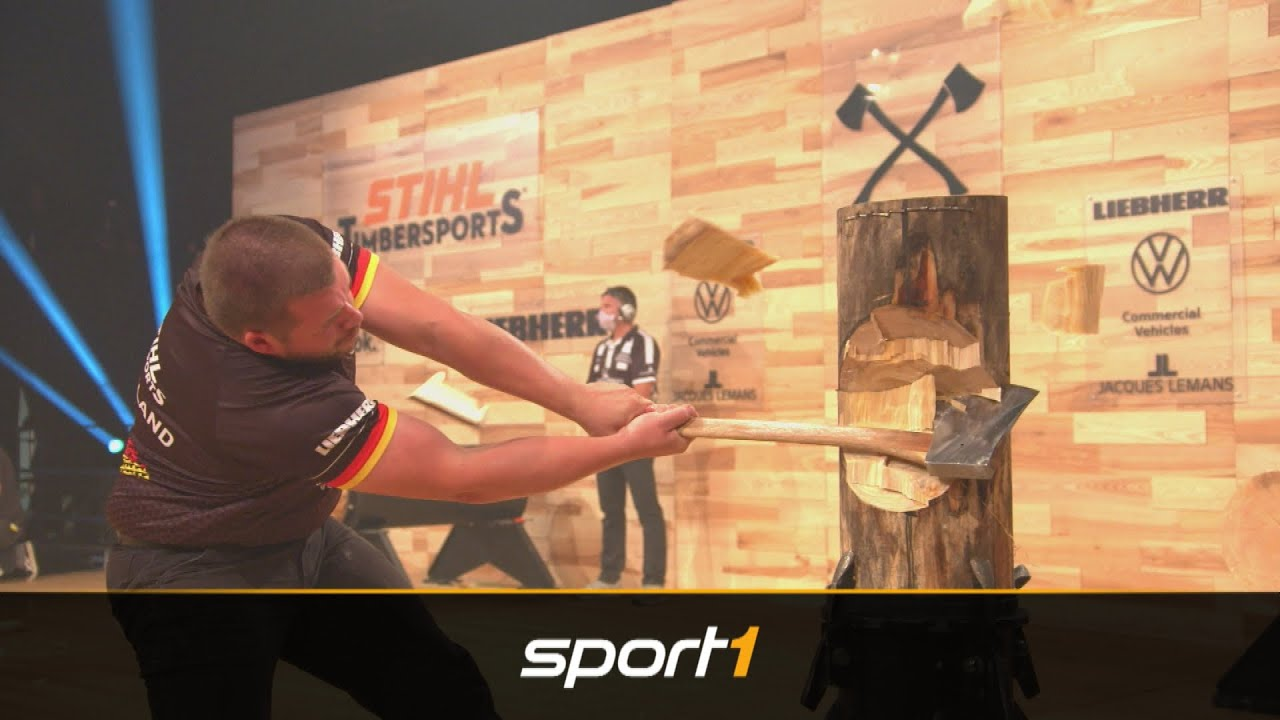 STIHL Timbersports - Six Nations Rookie Cup | SPORT1 More