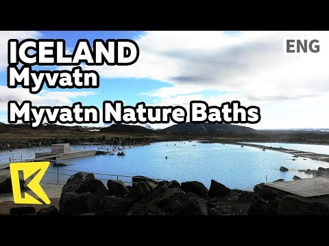 【K】Iceland Travel-Myvatn[아이슬란드 여행-미바튼]미바튼 네이처바스/Myvatn Nature Baths/Hot spring/Blue