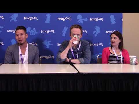 BronyCon 2017 Press Conference  Vincent Tong, Kyle Rideout, Kelly Sheridan