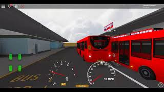 Roblox East London Project V3 E200 Stagecoach London Route 323 return