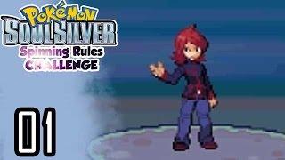 POKÉMON ARGENT SOULVILVER | Spinning Rules Challenge | #1 : Premiers combats !