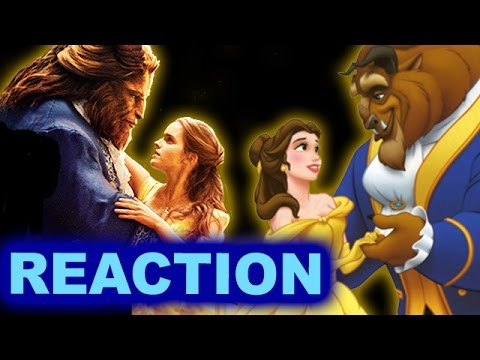 Beauty and the Beast 2017 Belle & Beast First Look REACTION