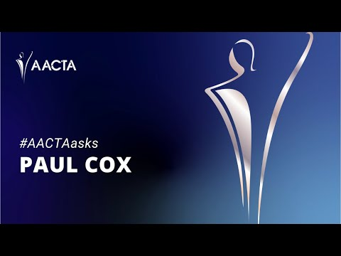 #AACTAasks - Paul Cox