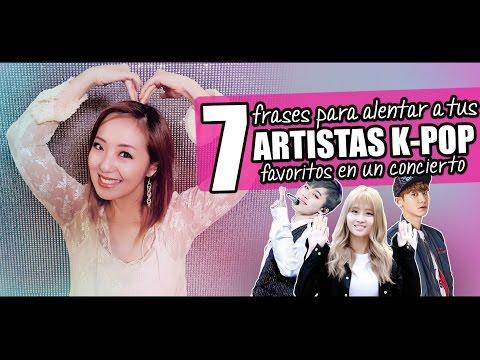 ¡7 frases para decirles a tus artistas K-Pop favoritos en conciertos! - JiniChannel