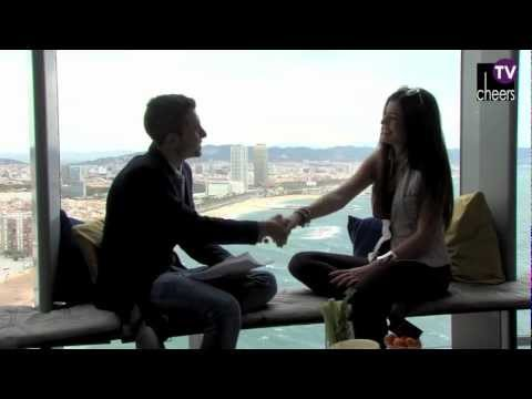 Ivi Adamou Interview in Barcelona by Cheers TV