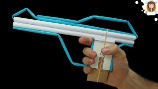 Como fazer uma Pistola de Papel do Star Wars - (Dispara 10  Balas)