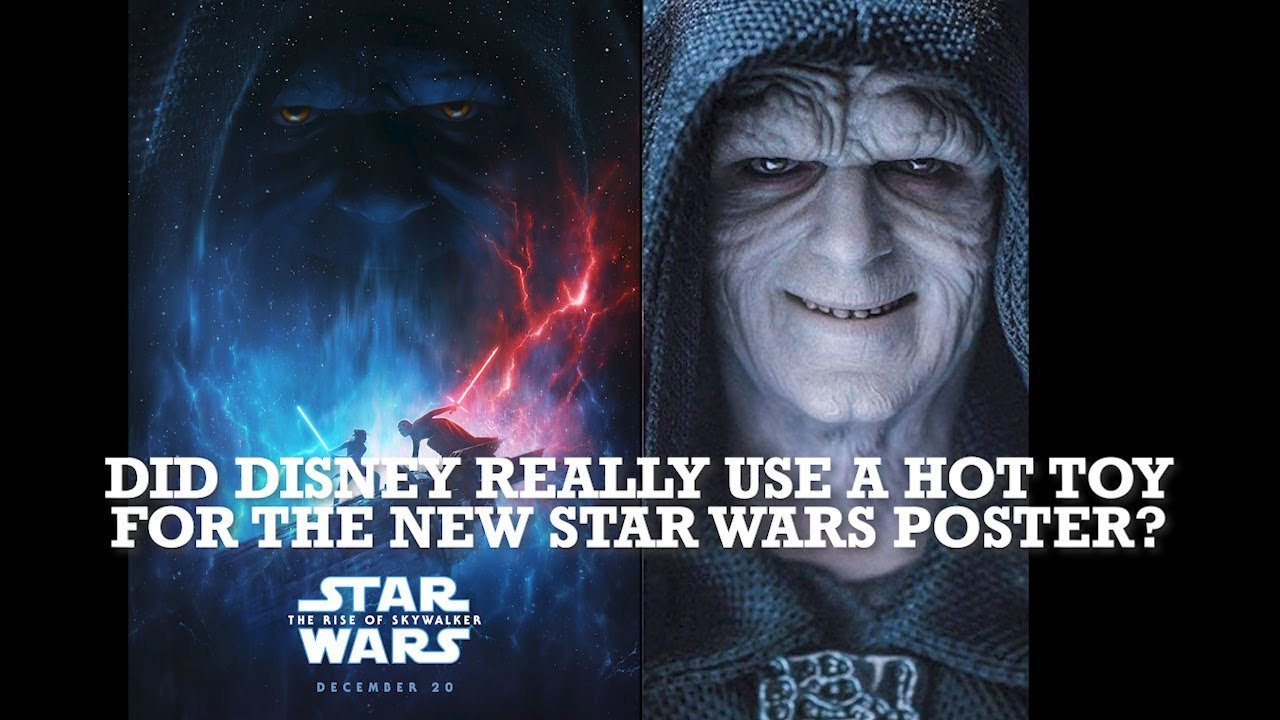 Did Disney Really Use A Hot Toy For The New Star Wars Poster Youtube