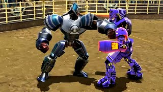 REAL STEEL WRB Aztec VS Noisy Boy & Bio War & Camelot & Sarge