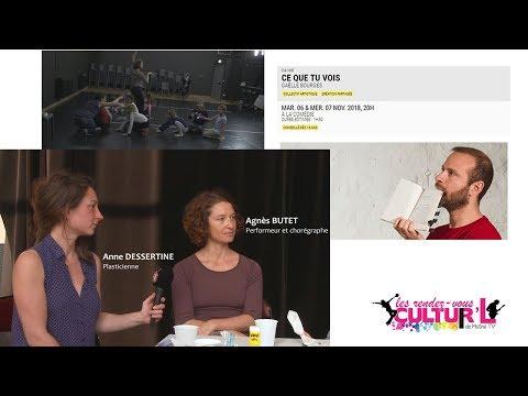 Les RDV Cultur'L avec Ce que tu vois de Gaëlles BOURGES   comédie de valence