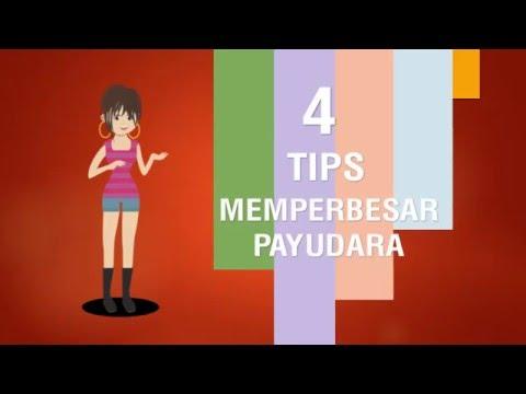 4 Tips Memperbesar Payudara