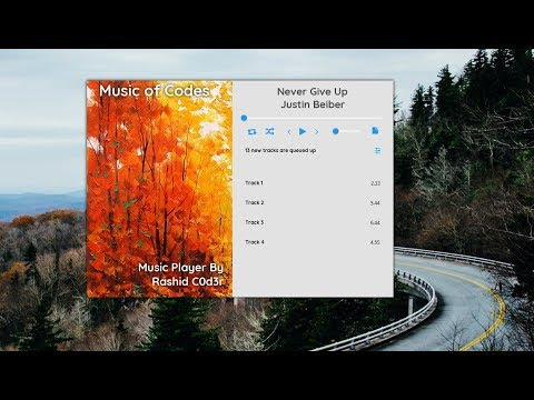 JavaFx | Material Design | Material UI | Working Music Player | Netbeans -  YouTube