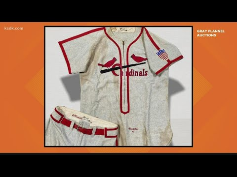 Rare-Stan-Musial-World-Series-uniform-up-for-auction