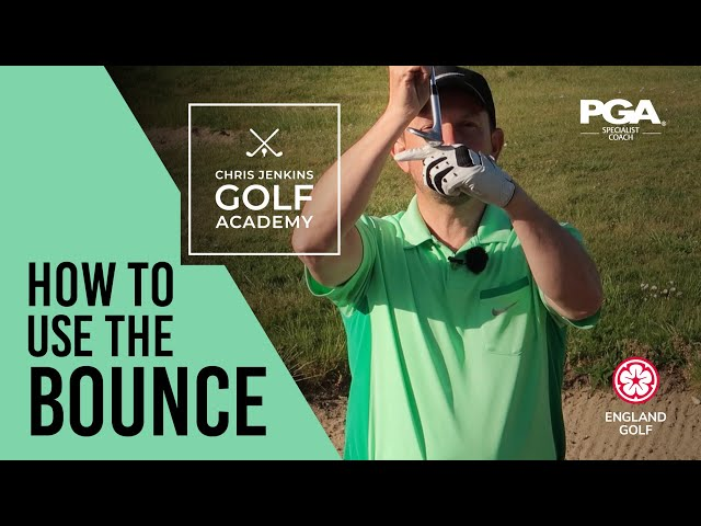 BUNKERS GOLF TIP - use the bounce on a sand wedge club