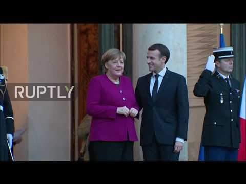 France: Macron, Merkel vow for a 'more sovereign Europe'