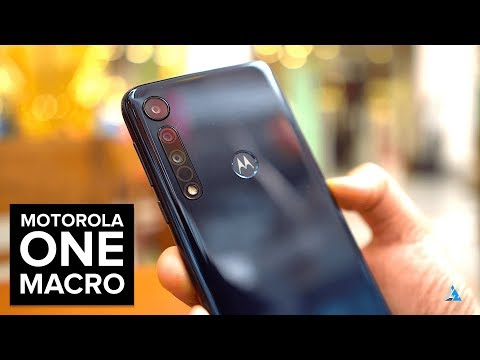 [HINDI] Motorola One Macro REVIEW and UNBOXING [CAMERA, GAMING, BENCHMARKS]