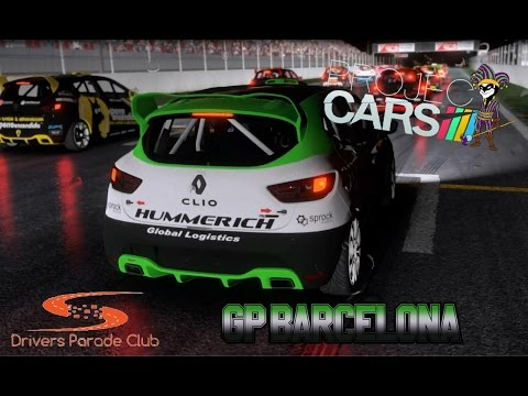 Liga DPC: Renault Clio Cup - GP Barcelona | Project CARS (PS4)