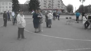 Танцы под духовой оркестр в Кольчугино 3 мая 2015 г.