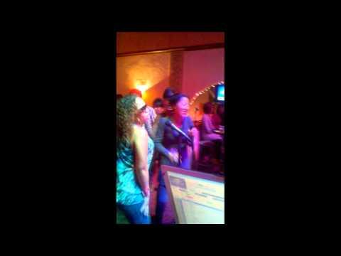 Karaoke night Crazy in Love :)
