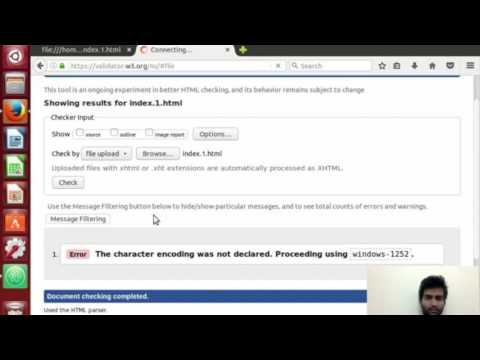 HTML Validation - With Examples (Hindi)