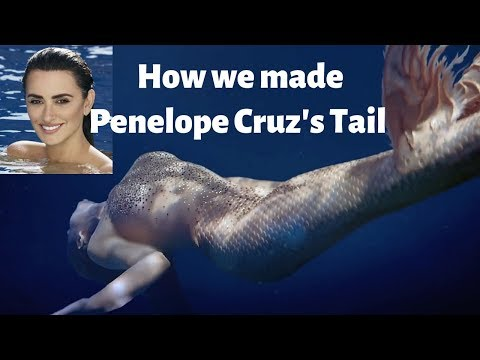 Learn How We Made Penelope Cruz Silicone Mermaid Tail