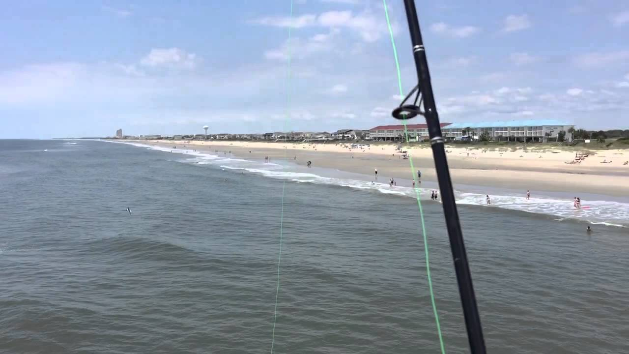 Fishing At Ocean Isle Pier
