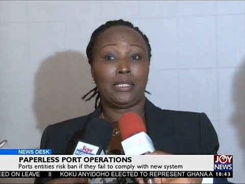 Paperless Port Operations - Business Desk on Joy News (22-8-17)