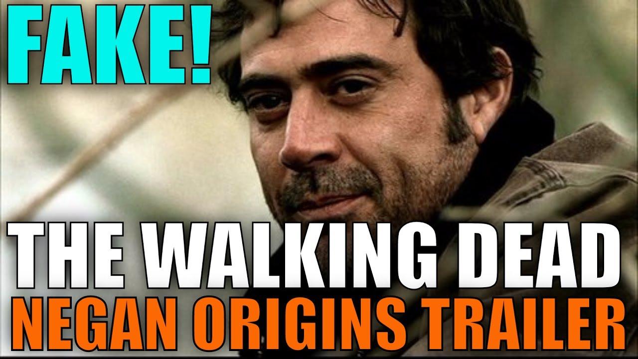 the walking dead season 8 negan origins sneak peek trailer is fake twd season 8 youtube. Black Bedroom Furniture Sets. Home Design Ideas
