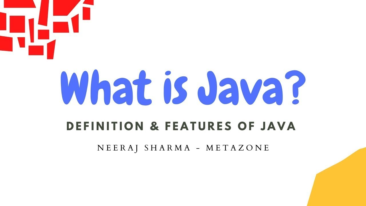 Java tutorials free image collections any tutorial examples java tutorials for beginners what is java part 1 java tutorials for beginners what is java baditri Choice Image