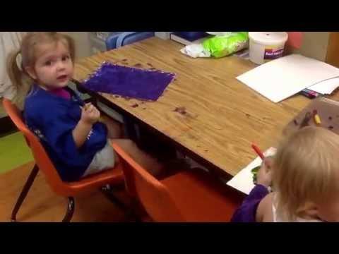Preschool center time