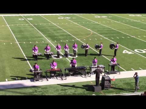 Spanish Springs High School Cougar Band Drumline 2016 - Vintage Show