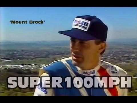 PETER BROCK 1989 '21 Years At Bathurst Interview' Mount Brock