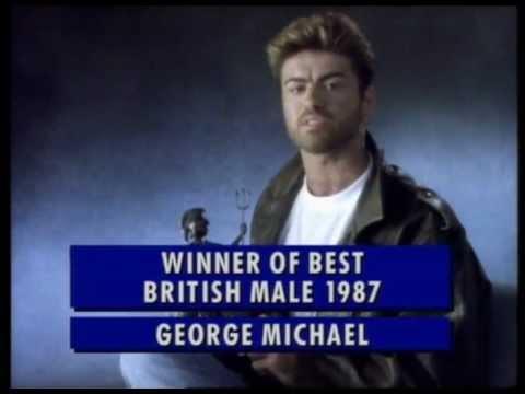 George Michael wins British Male presented by Noel Edmonds | BRIT Awards 1988