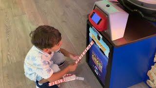Yusuf Uçağa Binip Tatile Gidiyor✈️oyun Alanında Süper Mario Oynadı,bilet Kazandı