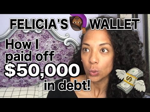 How I Paid Off $50,000 in Debt | FELICIA'S WALLET #1 💸🙋🏾 Mp3